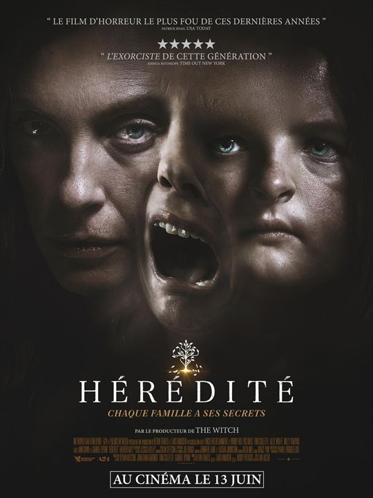 hérédité affiche Hereditary france