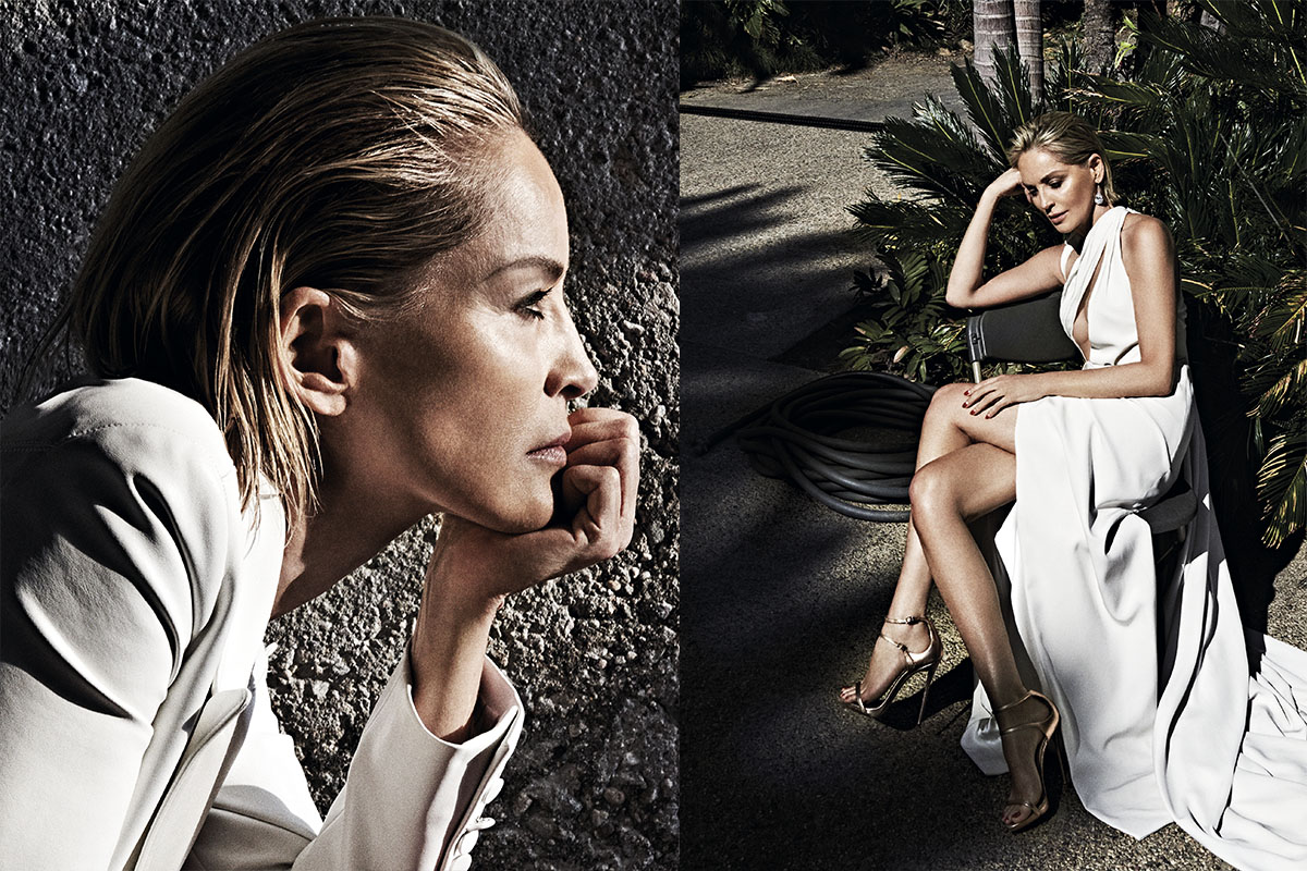 sharon stone vogue portugal 2