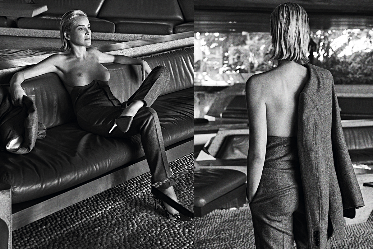 sharon stone vogue portugal 4
